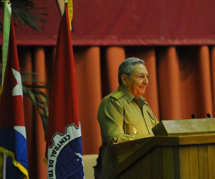 Recibió Raúl Castro a presidente de la República Árabe Saharaui Democrática