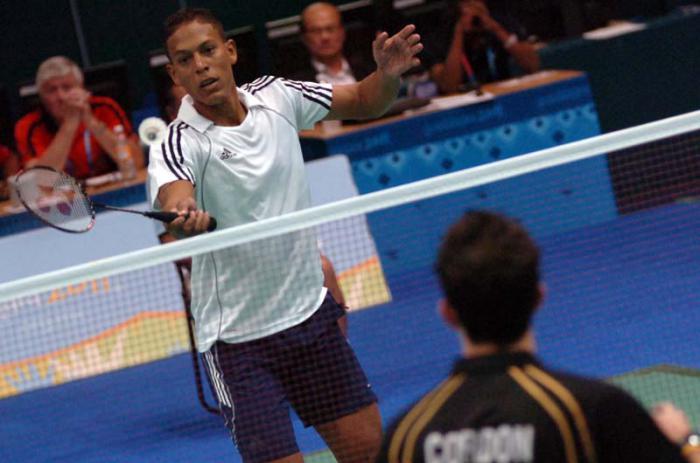 Badmintonista cubano debuta en torneo de Los Ángeles