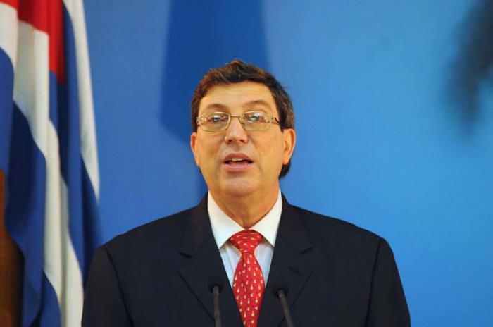 Canciller cubano inicia gira oficial por Europa