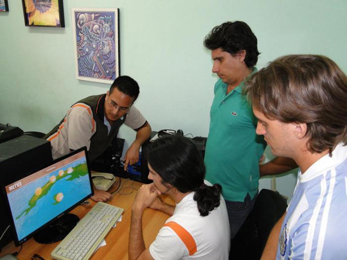 Desarrollan en Cuba nuevo software para partes meteorológicos