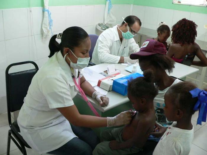 El mundo reconoce los resultados de la salud pública cubana.
