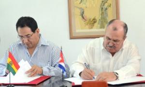 Fortalecen vínculos fiscalías generales de Cuba y Bolivia
