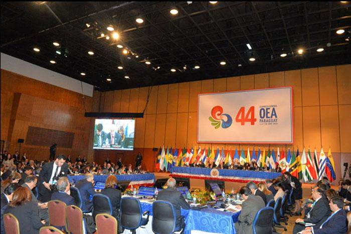 Manifiesta Latinoamérica apoyo a Cuba en Cumbre de la OEA