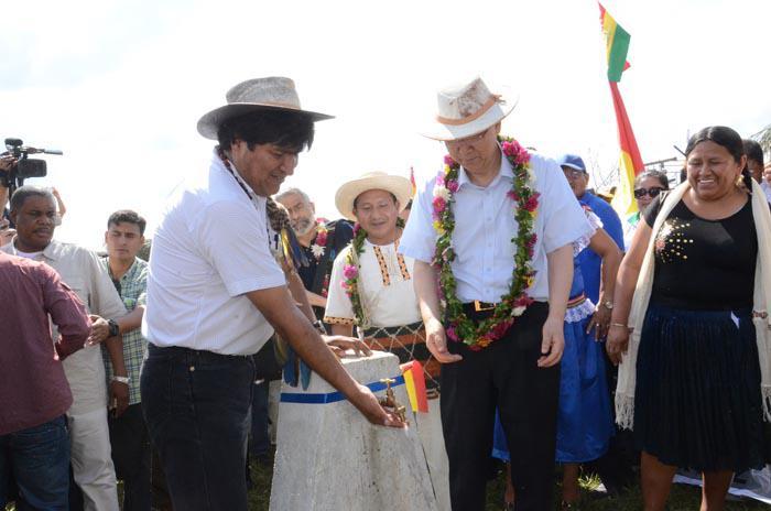 Asegura presidente Evo Morales que desarrollo social continuará en Bolivia