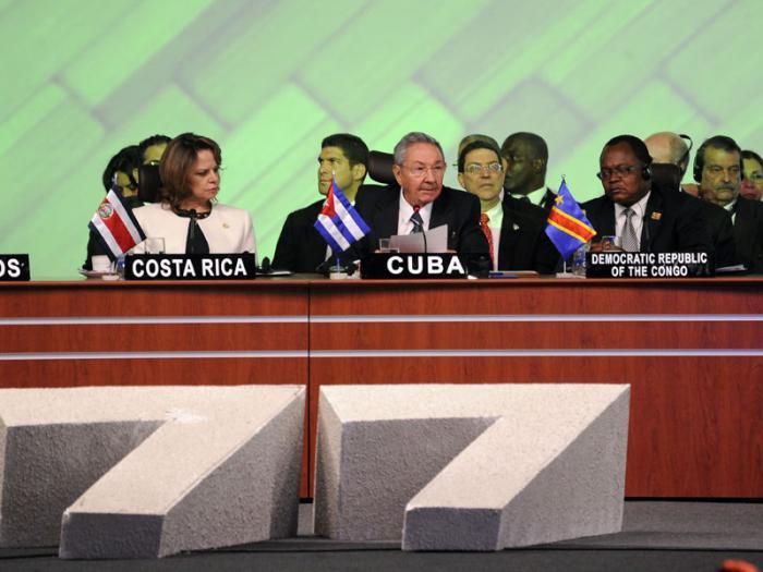 Exhortó Raúl a renovar el compromiso común para construir un mundo más justo.