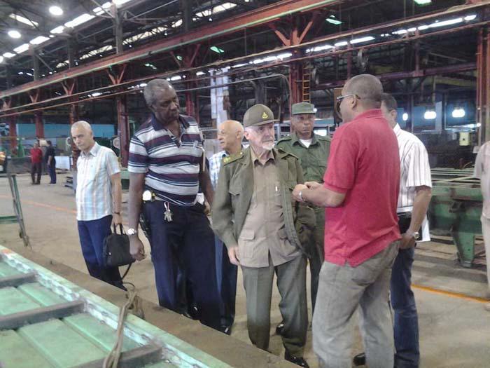 Examina vicepresidente cubano programa inversionista en Cárdenas