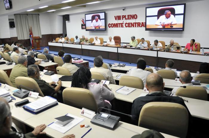 Efectuado VIII Pleno del Comité Central.