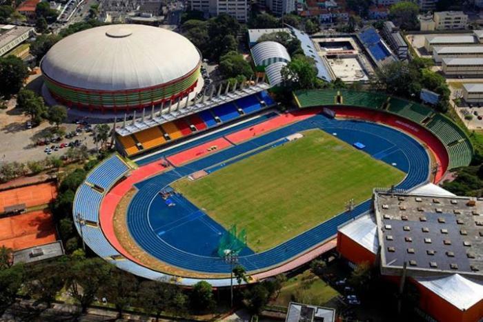 Estadio Ícaro de Castro Melo, de Ibirapuera, sede del XVI Campeonato Iberoamericano de Atletismo