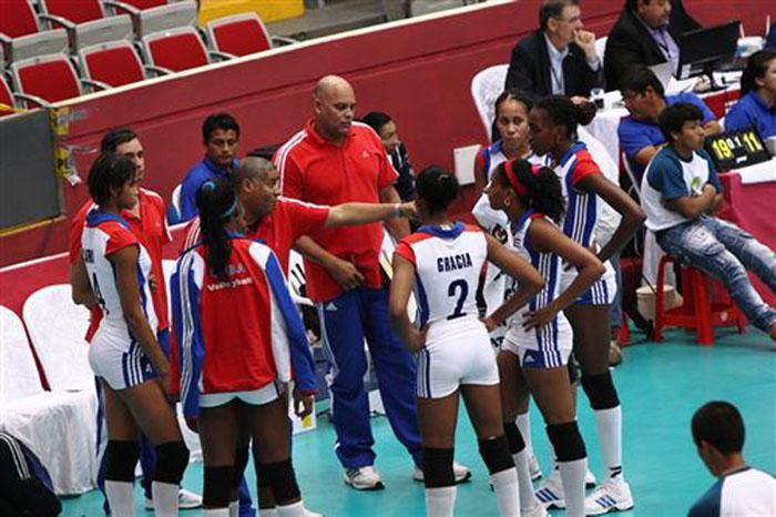 Cubanas enfrentarán a Perú en Grand Prix de Voleibol