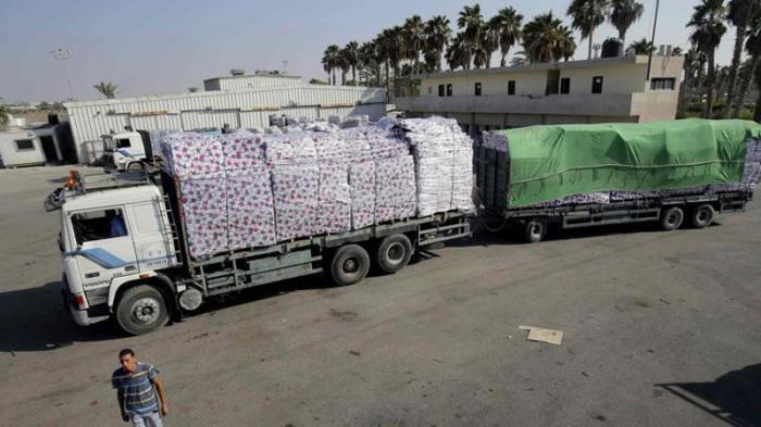 La ayuda humanitaria comienza a llegar a Gaza