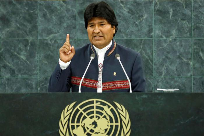Evo Morales llama a impulsar un desarrollo que respete los principios indígenas