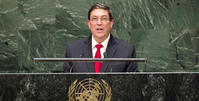 El canciller Bruno Rodríguez Parrilla llamó a una profunda reforma de la ONU.