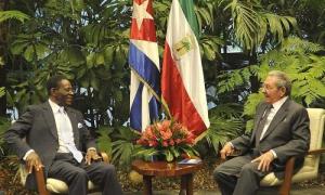Raúl Castro recibe al Presidente de Guinea Ecuatorial