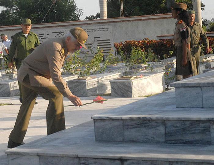 Homenaje póstumo a combatientes del Frente Norte de Las Villas.