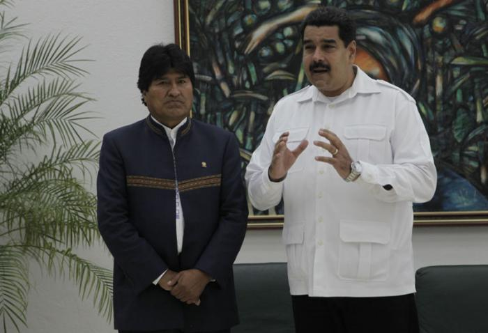 Evo Morales and Nicolas Maduro Say ALBA Summit on Ebola was a Success