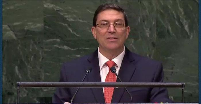Bruno Rodriguez en ONU