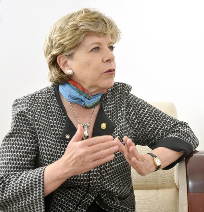 Alicia Bárcenas: En Cuba hay valores irrenunciables