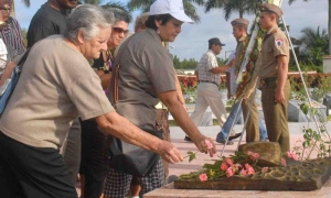 homenaje a camilo en yaguajay