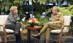 Raúl Castro recibe a la Secretaria Ejecutiva de la CEPAL