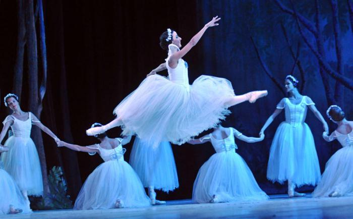 Ballet Nacional de Cuba actuará en Italia.