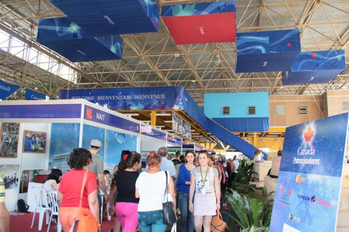 Feria Internacional de La Habana FIAHV 2014. Pabellón de Canadá.