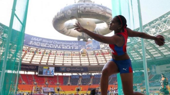 Oro y récord centrocaribeño para discóbola cubana Denia Caballero