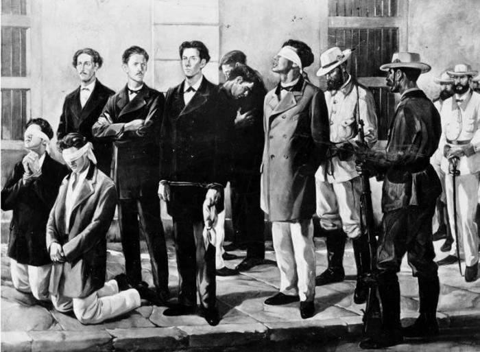Asesinato de estudiantes de medicina en 1871
