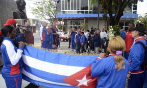 Veracruz amaneció con Martí