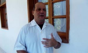 El doctor Gilberto Hernández, jefe de epidemiología de la brigada médica cubana.