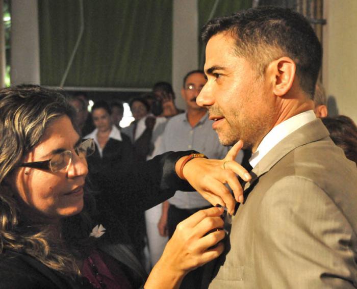 Entrega Medalla de la Amistad a Luís Filipe Soromenho Gomes