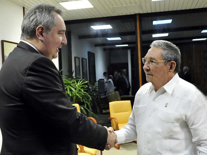 Recibió Raúl al vicepresidente del Gobierno ruso