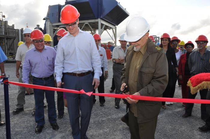 Inauguran nueva inversión en Energas