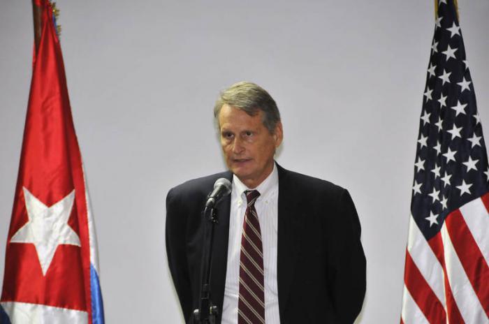 28 Ronda de Conversaciones Migratorias entre EEUU y Cuba, Edward Alex en conferencia de prensa.