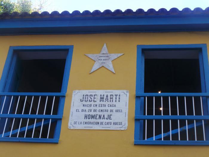 Fachada del Museo Casa Natal de José Martí