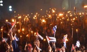 Jóvenes del Camagüey rindieron homenaje a José Martí