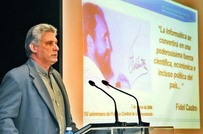 Intervención de Miguel Díaz-Canel Bermúdez,  en la clausura del Primer Taller Nacional de Informatización y Ciberseguridad