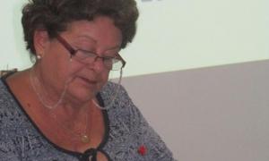 máster Teresa Orosa, presidente de la Cátedra del Adulto Mayor.