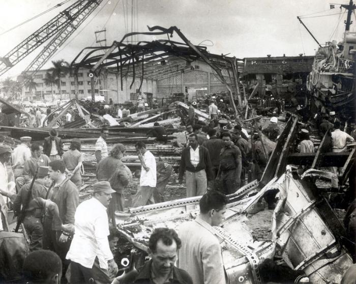 Recuerdan en Cuba a víctimas del acto terrorista contra buque La Coubre