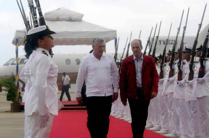 Cuba ratifica su incondicional apoyo a Venezuela