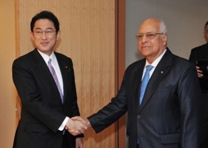 Vicepresidente cubano se reúne con dirigentes de Japón
