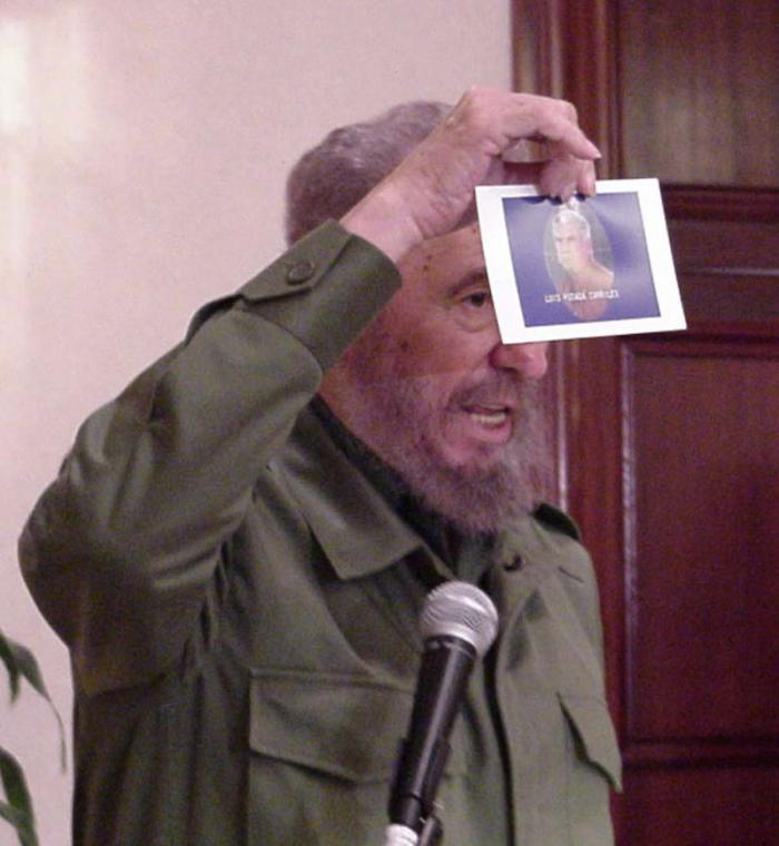 Image result for fidel castro panama 2000