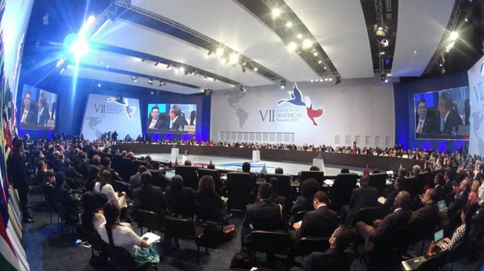 plenario Cumbre de las Américas