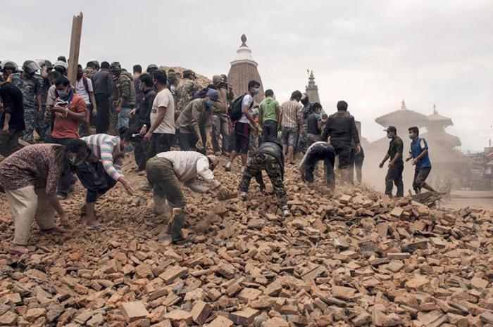 El terremoto de Nepal deja ya más de 4 000 muertos