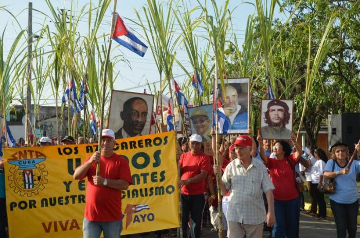 Sugarcane Workers Will also Parade on May Day in Camagüey
