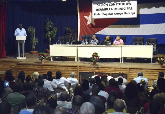 Constituidas las 168 Asambleas Municipales del Poder Popular