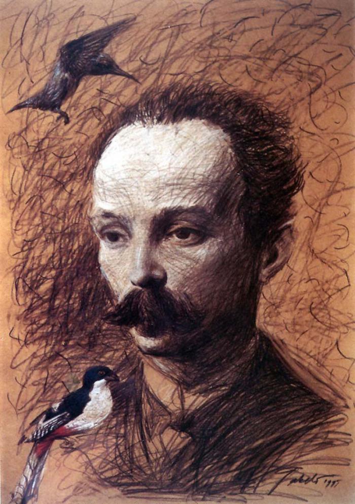 José Martí, por Roberto Fabelo