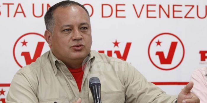 Denuncia Diosdado Cabello planes para sabotear comicios venezolanos