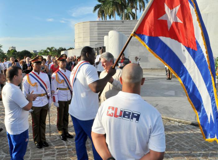 Vicepresidente cubano abandera delegación a Panamericanos 2015
