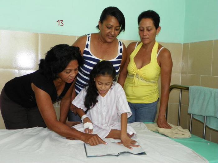 Aula Hospitalaria Hospital Infantil Sur, de Santiago de Cuba