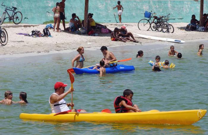 Ciudad de Matanzas. Playa El Tenis